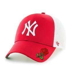 47 Brand MLB New York Yankees '47 MVP Trucker Kšiltovka Custom Rose - B-BRANS17CTP-RD