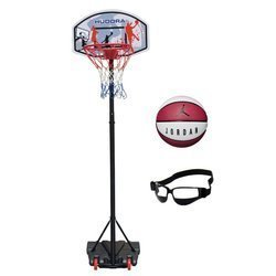 Basketball set Hudora All Stars + Jordan Playground 8P + Dribble Specs