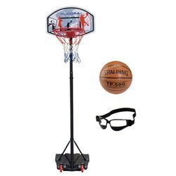 Basketball set Hudora All Stars + Spalding TF-500 + Dribble Specs