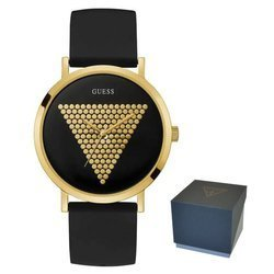 Guess Imprint hodinky - W1161G1 GOLD/BLACK