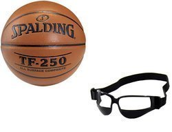 Spalding Košíková TF-250 + Basketball Eye Glass Goggles