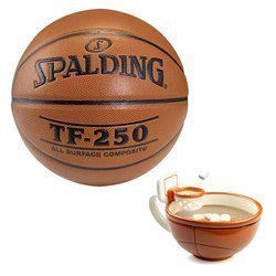 Spalding Košíková TF-250 Indoor/Outdoor + MAX'IS Creations Basketball The Mug With A Hoop