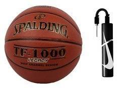 Spalding TF-1000 Legacy Batoh + Nike Essential Dual Action Ball Pump
