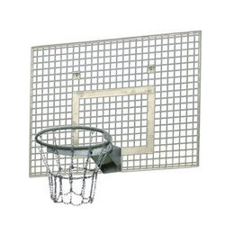 Sure Shot 144 Steel Basketball Backboard Grid +Basketball Rim