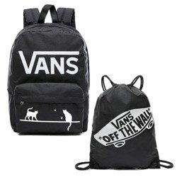 VANS - New Skool Backp Batoh Custom Cats VN0002TLY28 + Bag