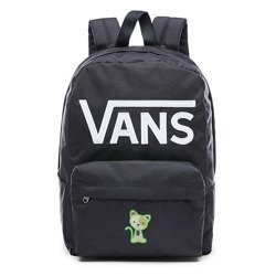 VANS - New Skool Backp Batoh Custom Green Kitty - VN0002TLY28 000