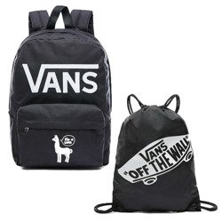 VANS - New Skool Backp Batoh Custom Lama - VN0002TLY28 + Vans Bag