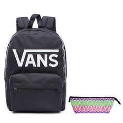 VANS - New Skool Backp Batoh - VN0002TLY28 000 + Pencil Pouch