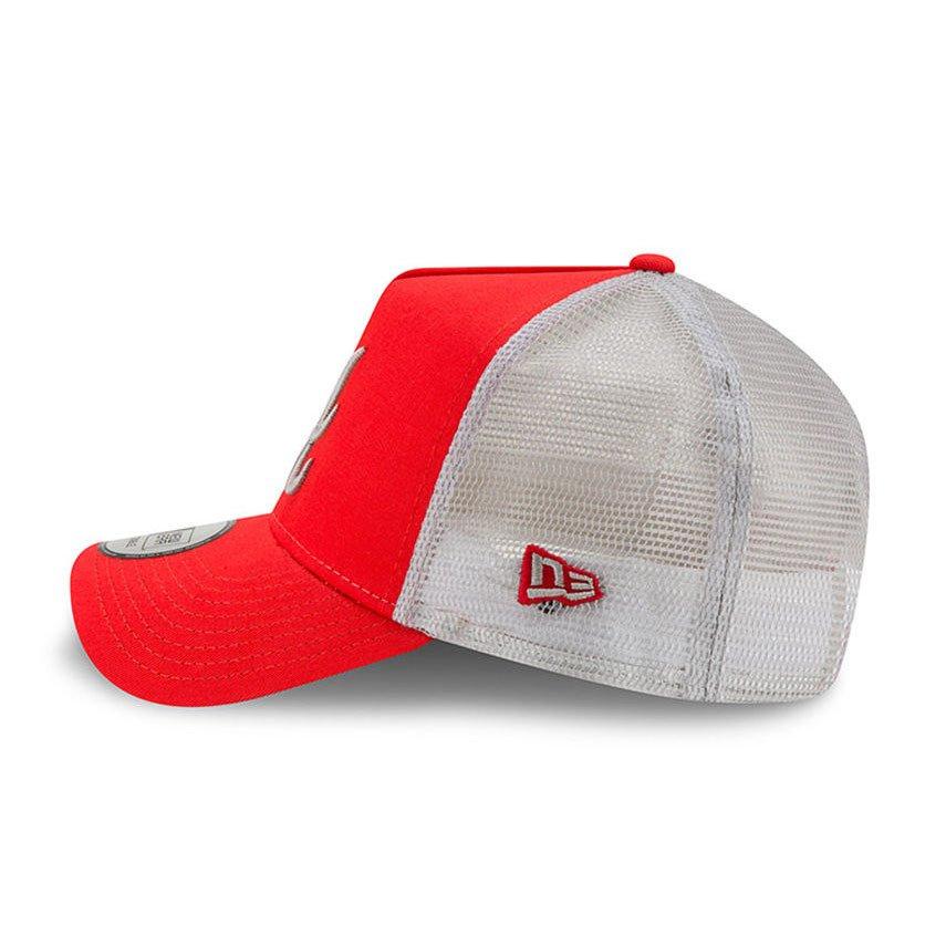 Kšiltovka New Era A Frame MLB Essential Atlanta Braves Trucker Cap Red -  11871472 badab63379