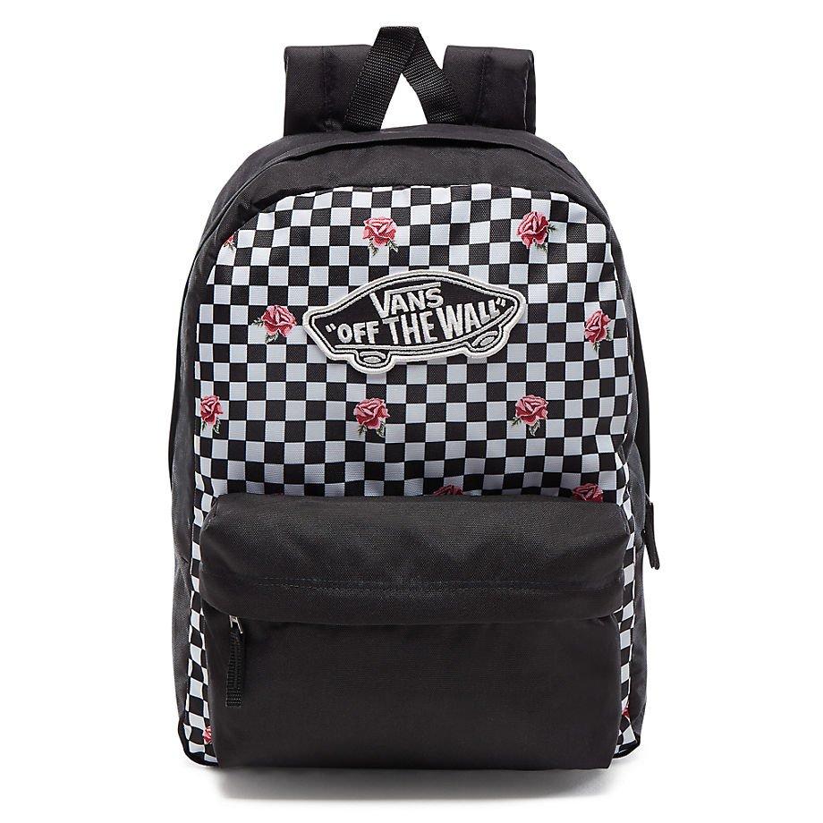 VANS Realm Backpack Rose Checker Batoh - VN0A3UI6YFK 447 VN0A3UI6YFK ... 098c98e2ce