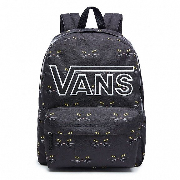 6d4e4f2fc6 ... VANS Realm Flying V Backpack Black Cat Batoh