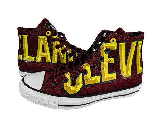 Converse Chuck Taylor All Star High NBA Cleveland Cavaliers Boty - 159417C