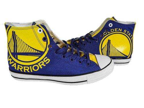 Converse Chuck Taylor All Star High NBA Golden State Warriors Boty - 159416C