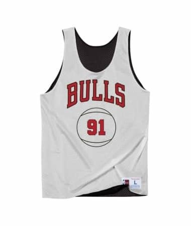 Mitchell & Ness NBA Dennis Rodman Chicago Bulls Reversible Tank top - BA85AI