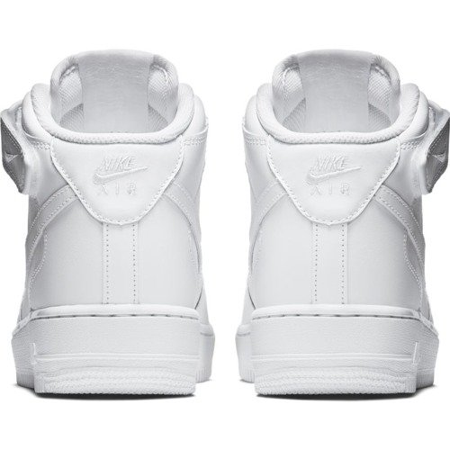 Nike Air Force 1 Mid All White Boty - 315123-111