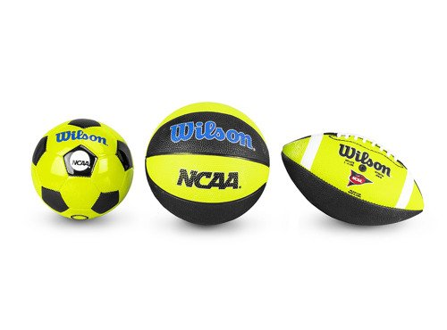 Wilson Triple Threat mini size sada míčků - WTX0754ID