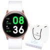 Smartwatch Gino Rossi SMS FB SW010-7 pink r.gold/white